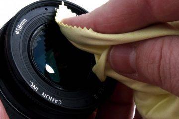 PuliziaObiettivi di una reflex - Cover