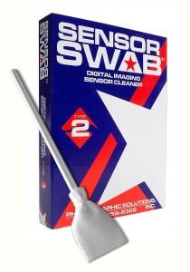 Palette sensor swab