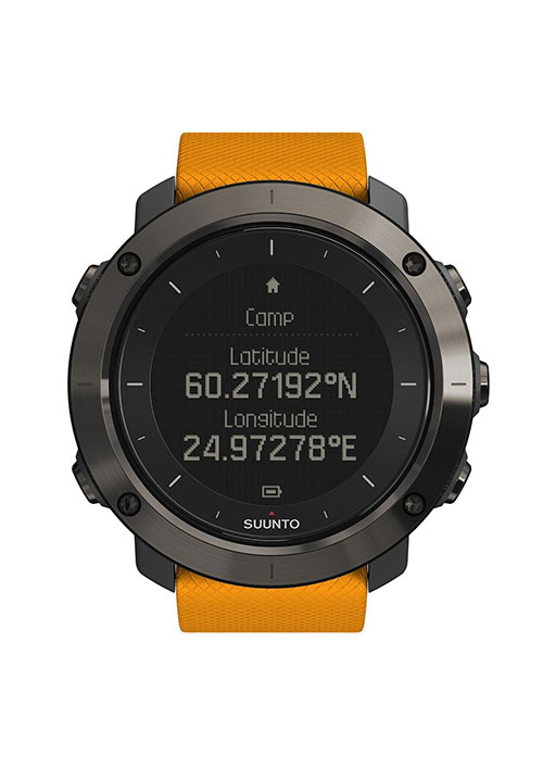 Suunto Traverse coordinate