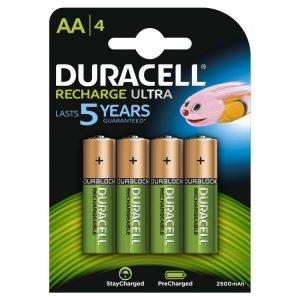 batterie duracell AA 2400mah