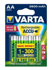 batterie varta AA 2600mah