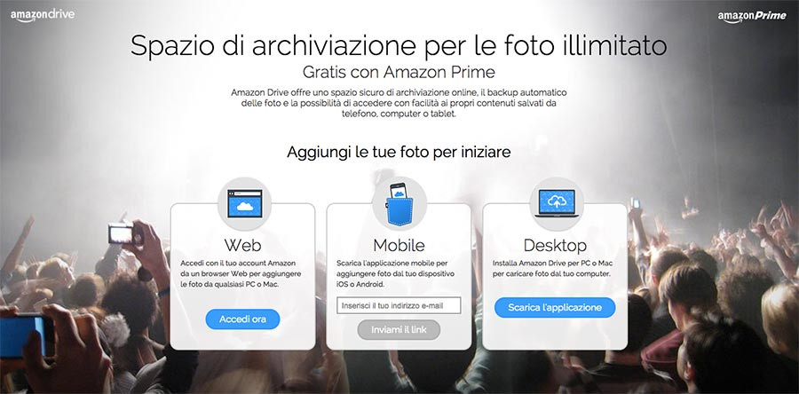 Prime foto schermata di accesso - Keptun