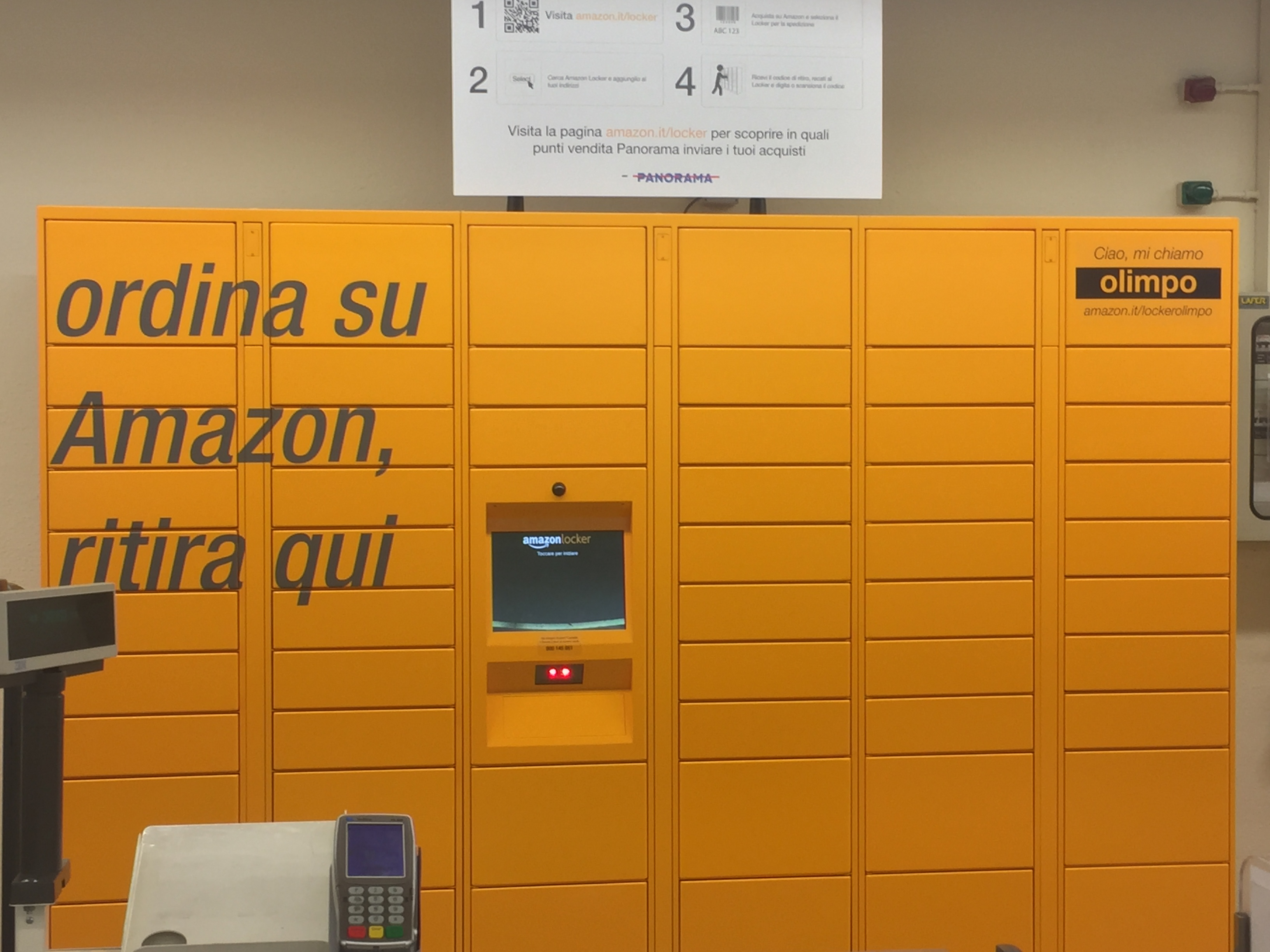 Amazon.it Aiuto: Informazioni sui Locker