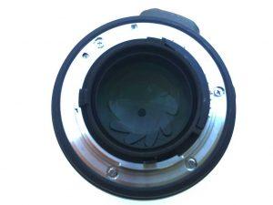 Acquisto obiettivo usato - lente posteriore