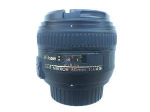 Acquisto obiettivo usato - ottica focale fissa