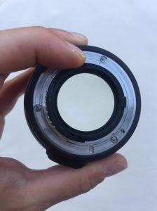 Acquisto obiettivo usato - ottica nikon diaframma aperto