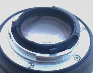 Acquisto obiettivo usato - ottica nikon levetta diaframma